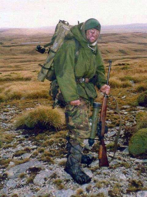 falklands war sniper