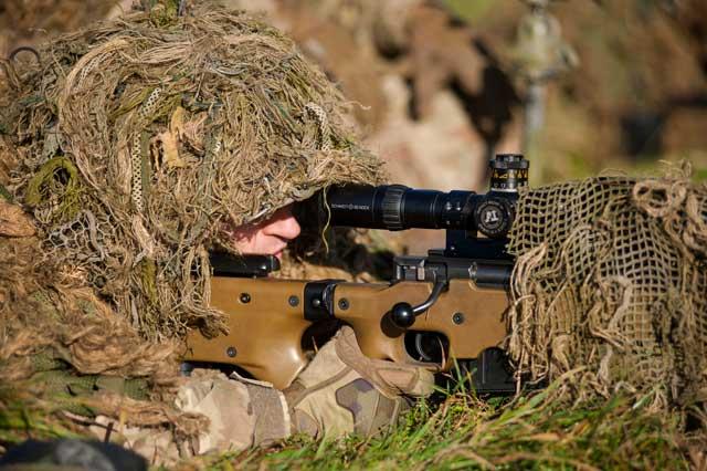 modern day british sniper