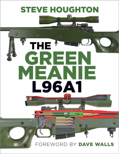 The Green Meanie L96A1 rifle book cover