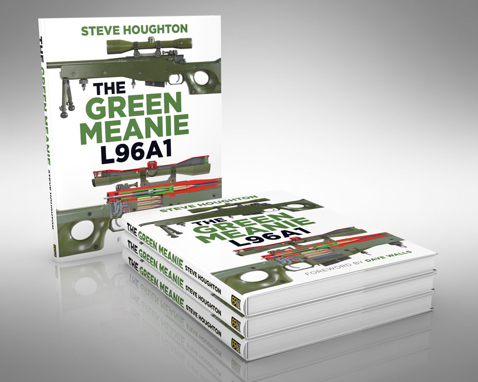 The Green Meanie L96A1 rifle - book cover