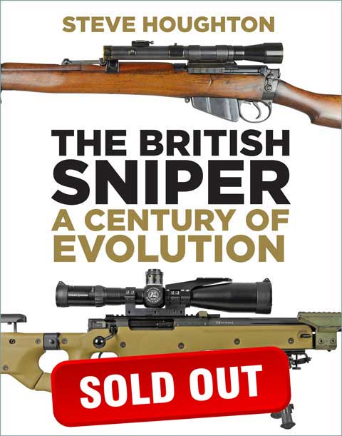 The British Sniper Book Cover (sold out)